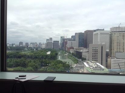 帝国ホテル 眺望