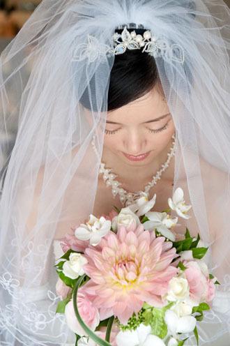 花嫁ブーケ