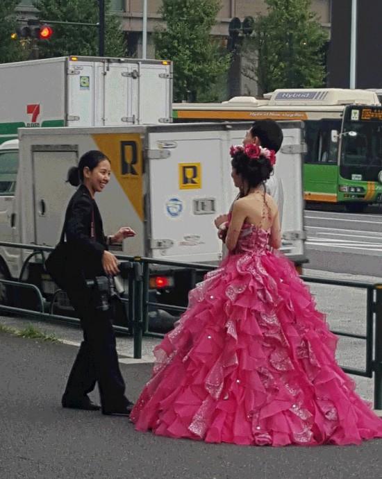 東京駅花嫁2